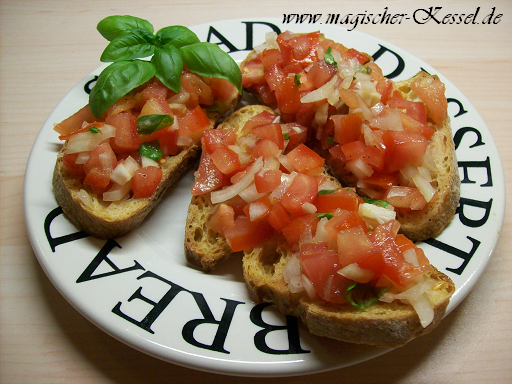 Italienische Sommerküche : Sommerküche bruschetta « fingerfood « der magische kessel