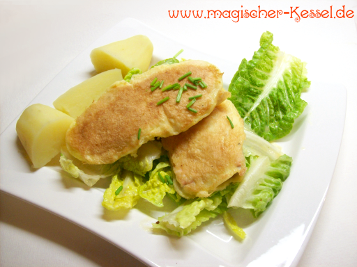 rezept f r lachs piccata aus der pfanne der magische kessel. Black Bedroom Furniture Sets. Home Design Ideas