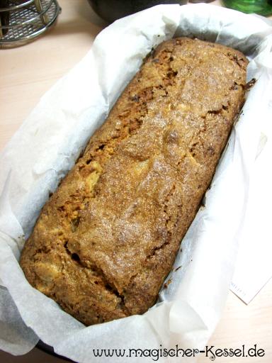 Rezept für Bananenkuchen - Resteverwertung für alte Bananen