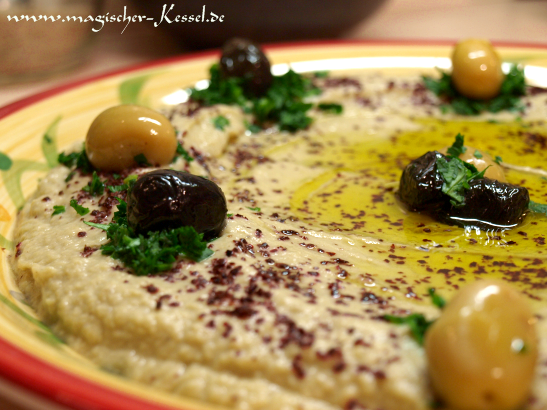 Baba Ganoush – Auberginencreme zum Tunken « Arabische Küche « Der ...
