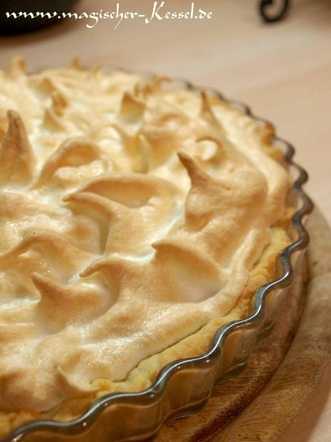Rezept Fur Gottlichen Lemon Meringue Pie Zitronen Baiser Torte