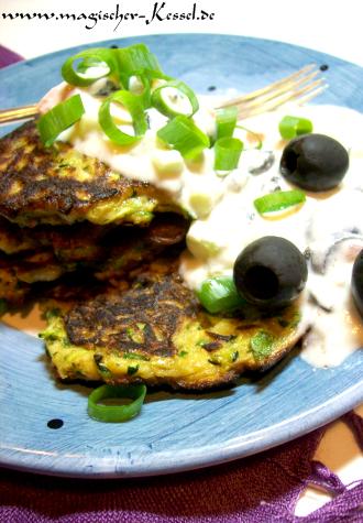 Rezept für arabische Zucchiniplätzchen