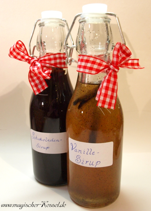 Aromasirup mit Vanille