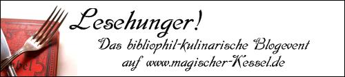 Lesehunger! Ein bibliophil-kulinarische Blogevent