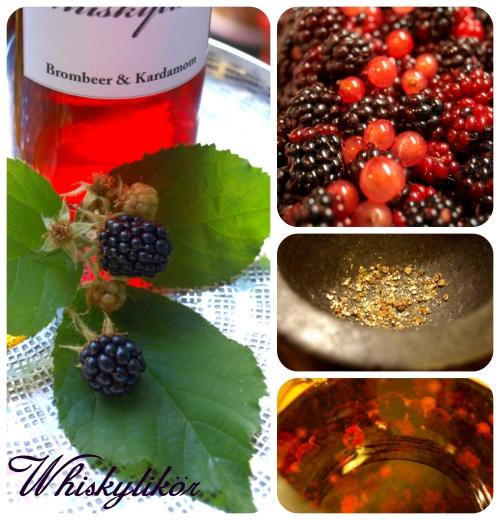 Whiskylikör-Brombeer-s