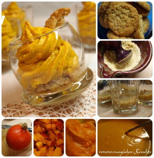 Wie wird Pumpkin Cheesecake mit Pumpkin Pie Spice gemacht?