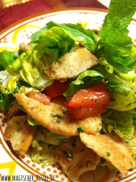 Fattoush – Sommerlicher arabischer Brotsalat Â« Arabische Küche ...