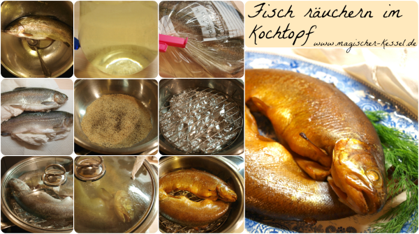 Wie räuchert man Fisch im Kochtopf?