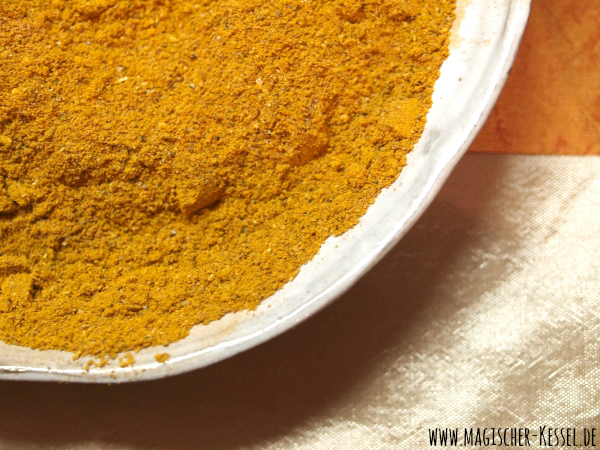 Selbstgemischtes Madras Curry