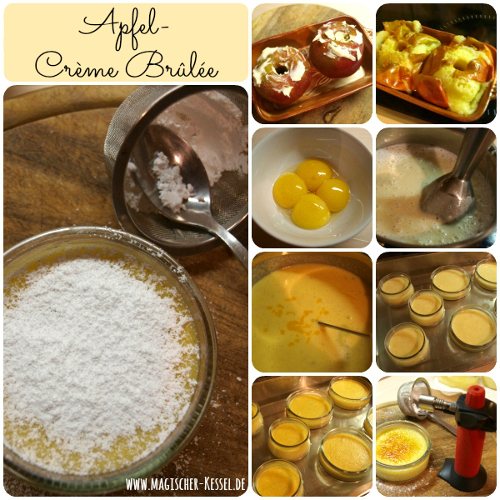 How to make Apple Crème Brûlée