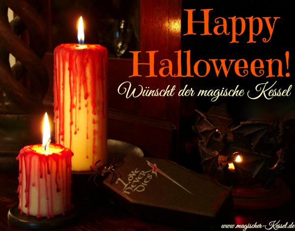 Happy Halloween 2014 vom magischen Kessel!