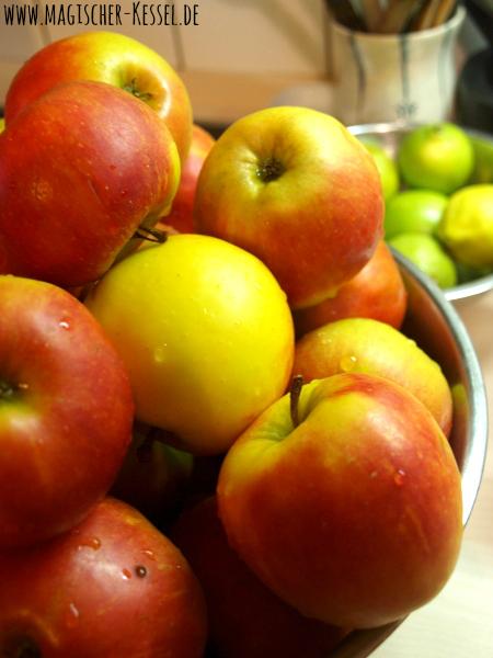 Äpfel für selbstgekochtes Apfelmus