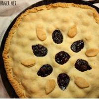 Bubbly Pie nach Art der Drachenreiter von Pern (Blaubeerpastete)