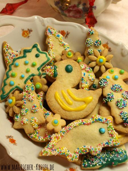 Selbstgebackene Weihnachtskekse - Grundrezept