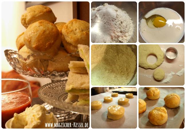 Baking Scones - Wie bäckt man Scones?