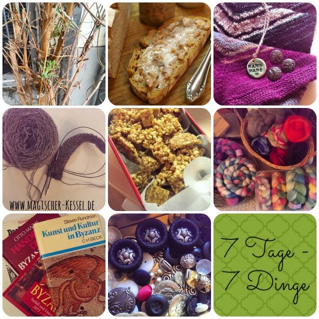 7 Tage - 7 Dinge Kalenderwoche 11/2015