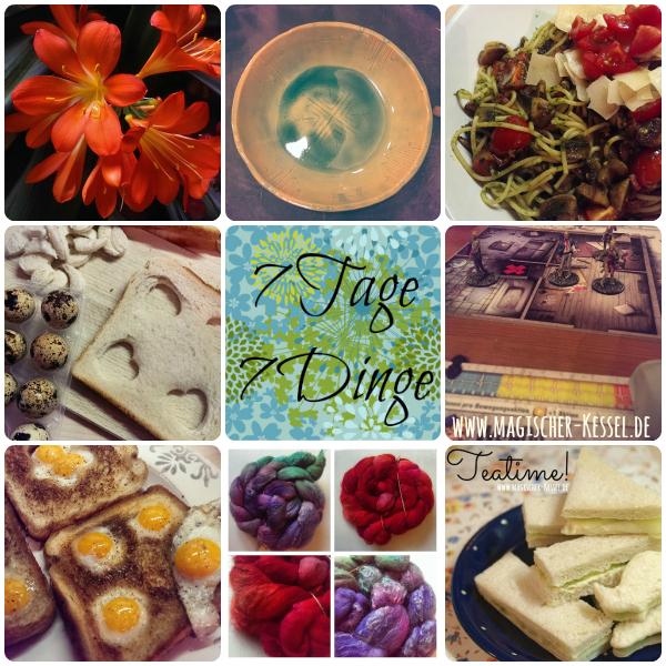 7 Tage 7 kreative Dinge aus dem Magischen Kessel #7Tage7Dinge