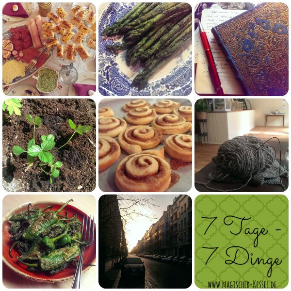 7 Tage 7 Dinge KW 15/2015 Foodblog der magische Kessel