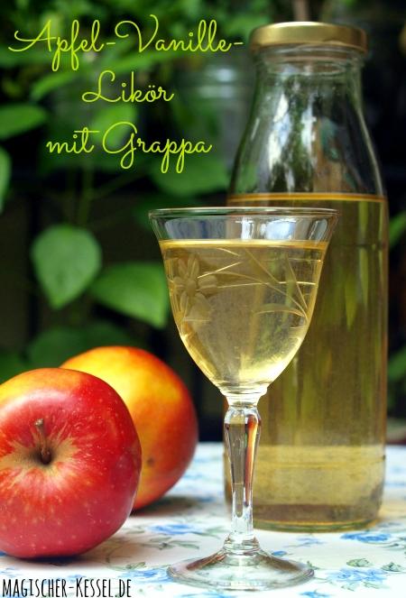 Erntezeit & Apfelliebe: Rezept für Apfel-Vanille-Likör mit Grappa
