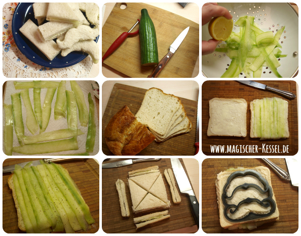 How to make a Cucumber Sandwich