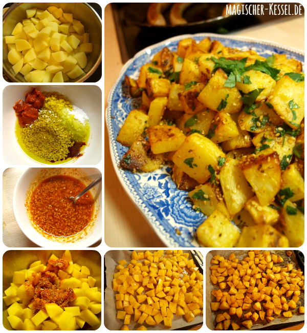 Cooking Batata Harra