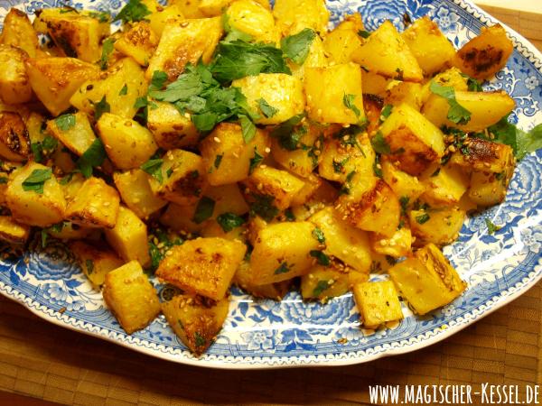 arabisches Kartoffelgericht