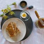kaya - Kokoscreme mit Pandanussblättern