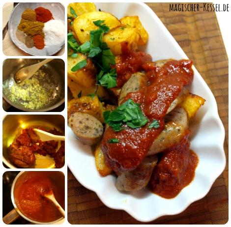 Curryketchup selbermachen: Rezept für Gewürzketchup / www.magischer-Kessel.de
