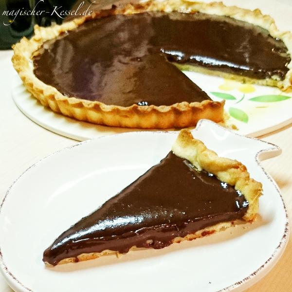 Schokoladenkuchen mal anders: Rezept für französische Tarte au Chocolat