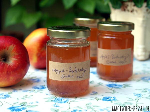 Erntezeit: Rezept für Apfelgelee mit Whisky