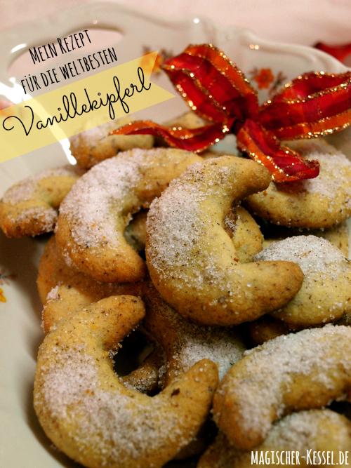 Rezept für weltbeste Vanillekipferl #weihnachtskekse
