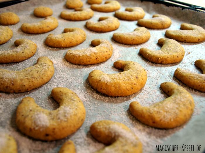 Rezept für (meine) weltbeste(n) Vanillekipferl #kekse #magischerKessel