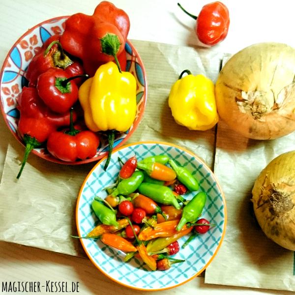 Spicy Hot Sauce: Rezept Für Chili-Sauce « Geschenke Aus Der Küche