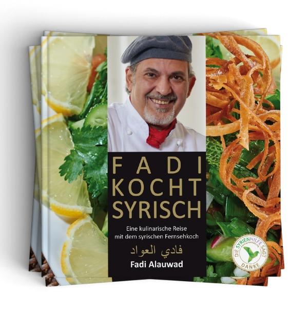 """Rezension zu dem syrisches Kochbuch """"Fadi kocht syrisch"""""""