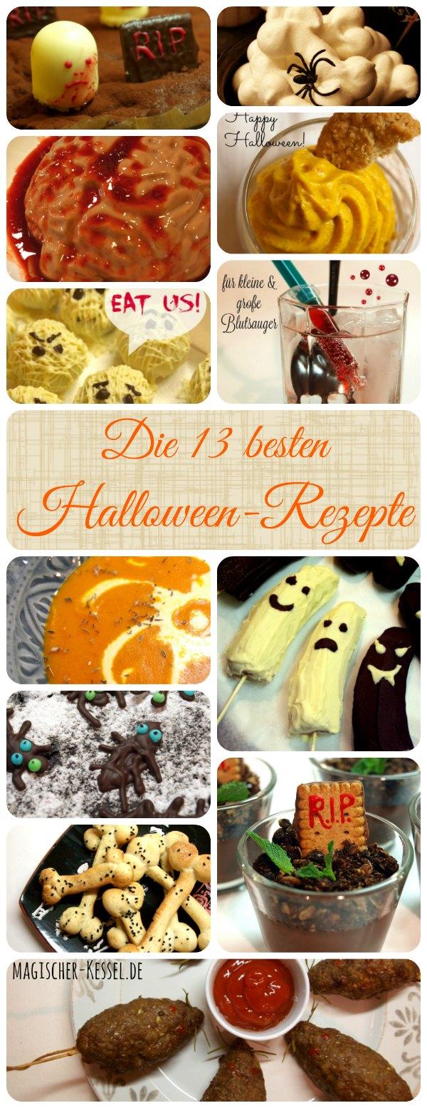 Die 13 besten Halloween-Rezepte
