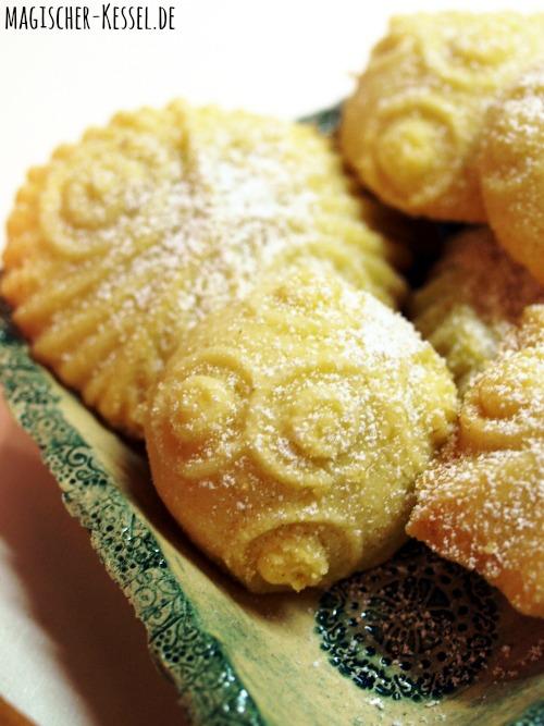 Ma'amoul - gefüllte arabische Kekse