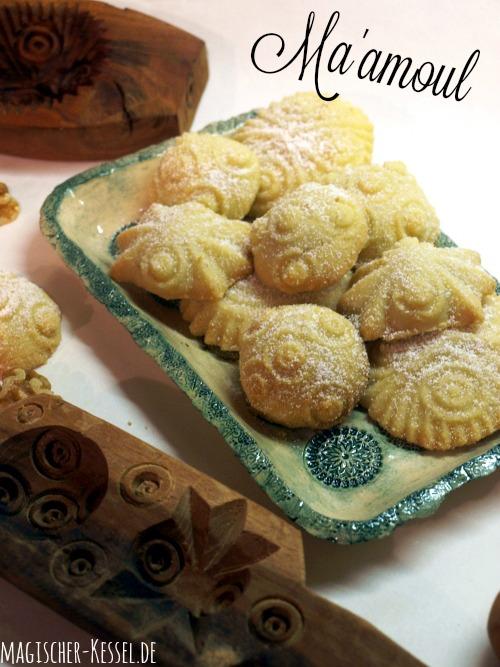 Maamoul - süße arabische Pasteten