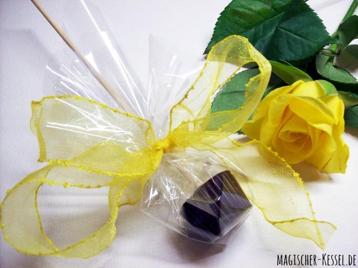 Rezept für Trinkschokolade am Stiel