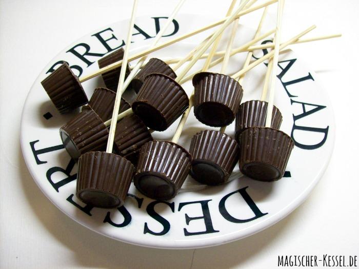 Trinkschokolade am Stiel DIY