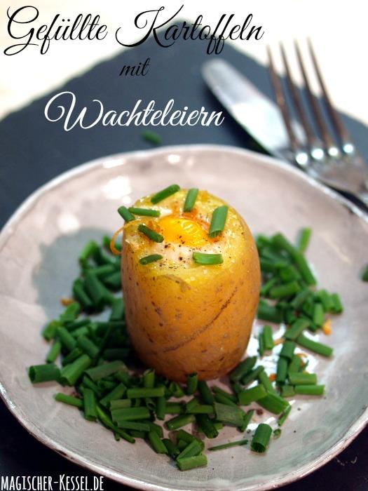Osterrezept: Kartoffeln und Wachteleier für ein Kartoffelrezept