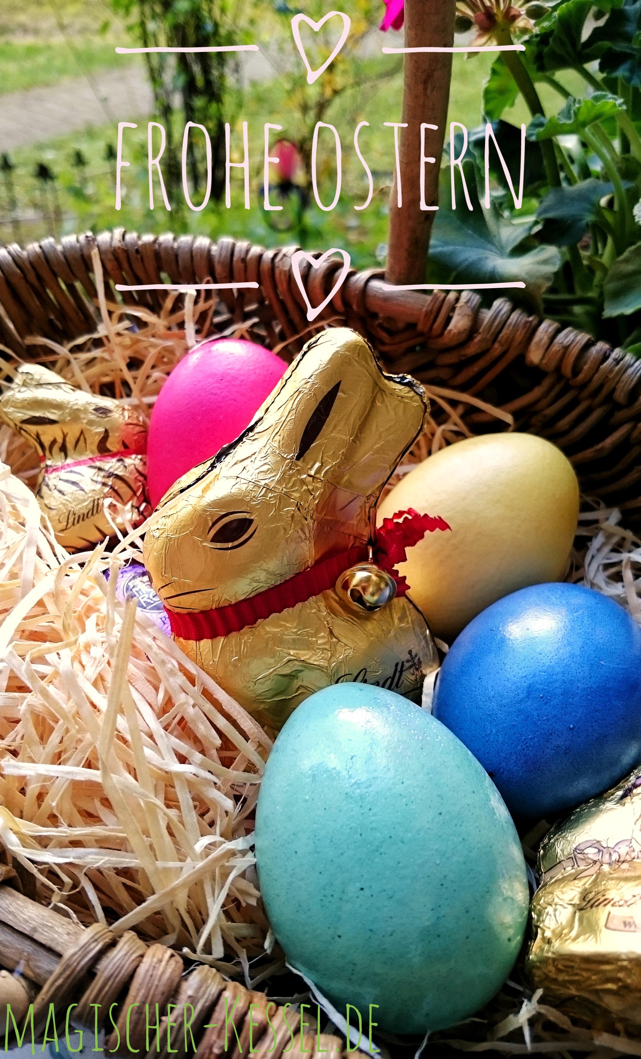 "Das Berliner Foodblog ""Der magische Kessel"" wünscht frohe Ostern"