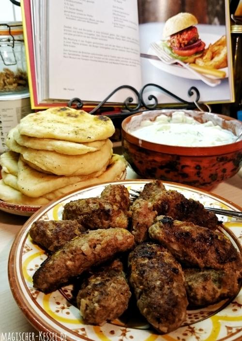 """Lamm Burger aus """"Original indisch"""" von Meera Sodha"""