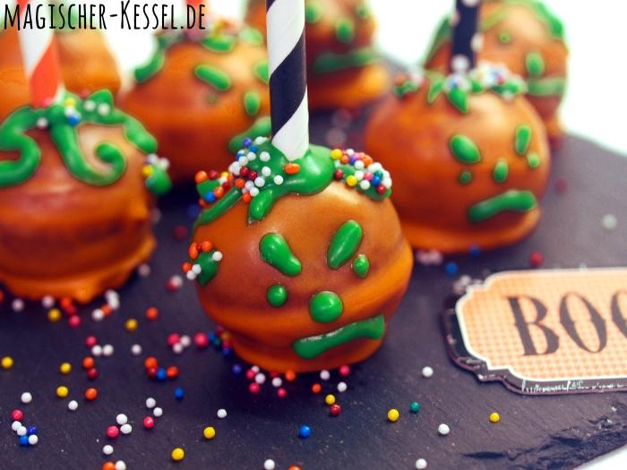 Sweet Table für die Halloween-Party: Cake Balls