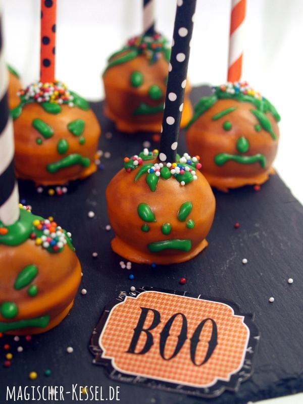 Cake Balls für Halloween