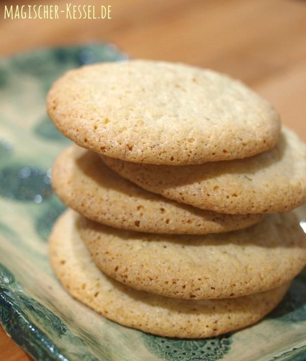 Knusprige Kekse - ganz ohne Mehl