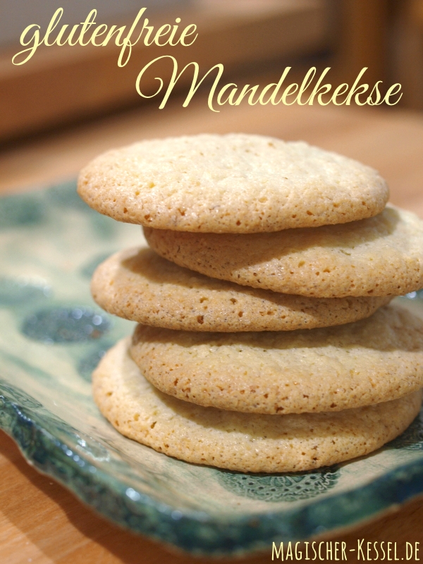 Rezept für glutenfreie Mandelkekse aus nur 3 Zutaten