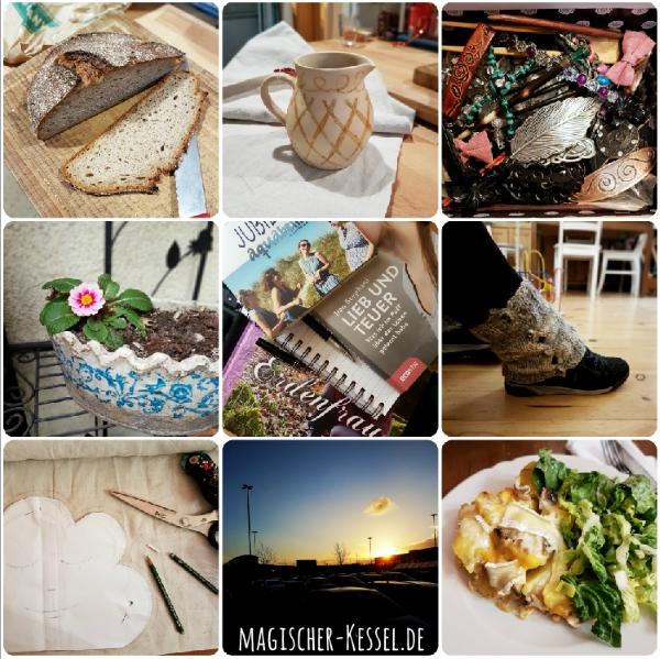 Collage #12von12 im Februar
