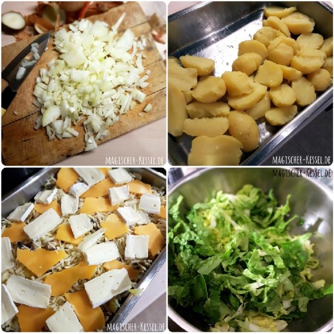 Kartoffelrezept How to make tartiflette