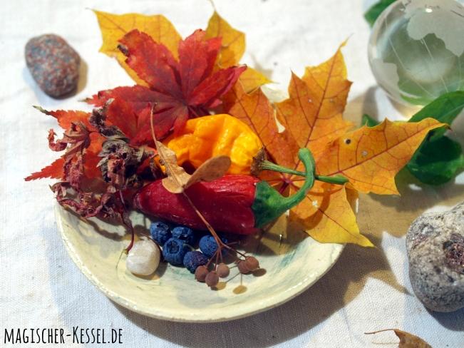 Jahreszeitenteller Herbst