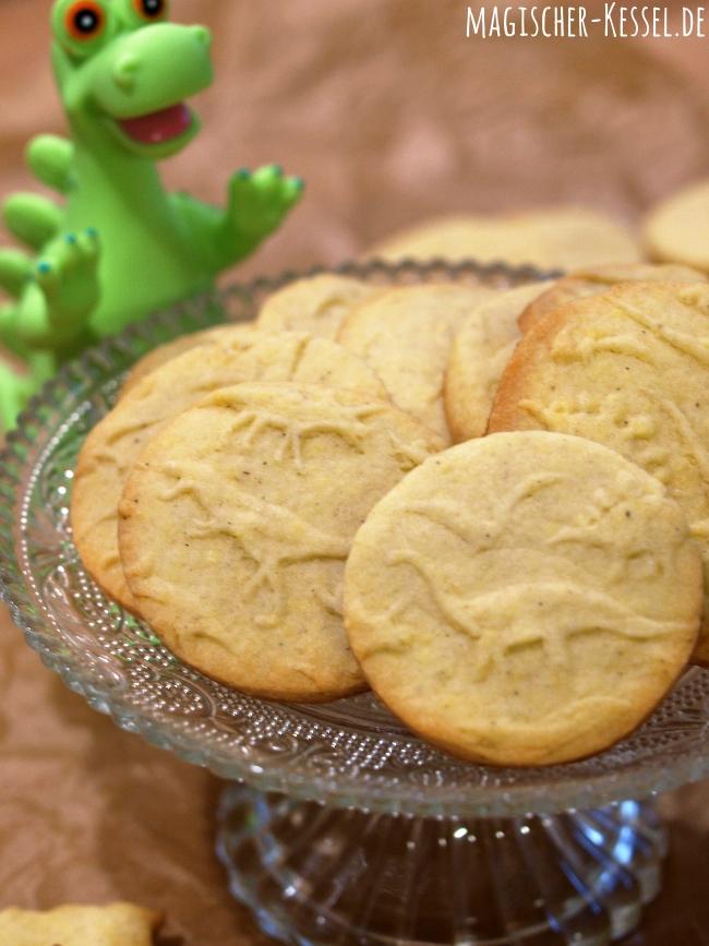 Rezept für Kekse mit Prägerolle